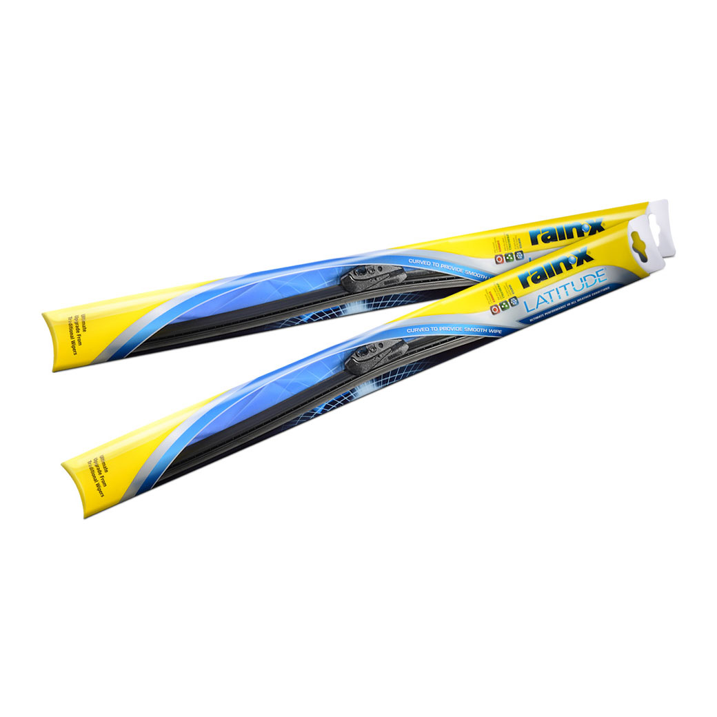 Rain-X Latitude 5079283 Ultimate Performance Curved Wiper Blade for All-Weather Conditions, 17 (2 Blades) at Sears.com