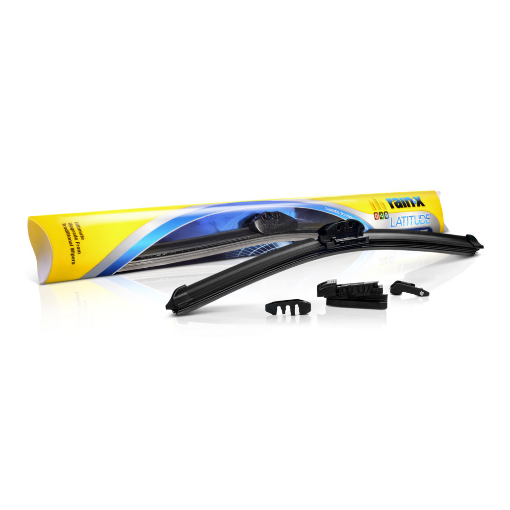 Rain-X Latitude 5079283 Ultimate Performance Curved Wiper Blade for All-Weather Conditions, 17 at Sears.com